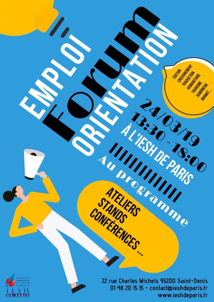 forum de l'orientation et de l'emploi